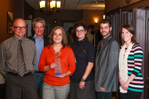 selkirk geospatial research centre wins innovative organization award at KAST 2012 Spirit of Innovation Awards