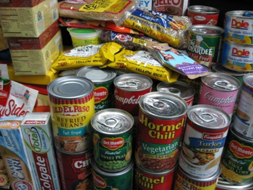 Lotto funds go into food bank