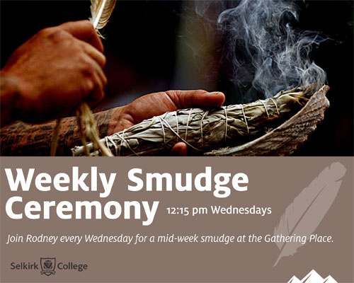 Weekly Smudge Ceremony