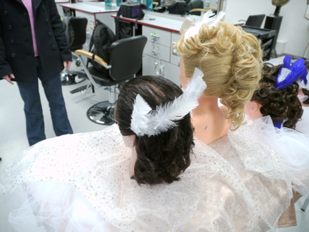 Hairdressing program at Silver King Campus, Nelson BC
