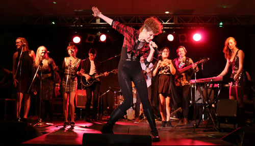 Kiesza returns to Selkirk College