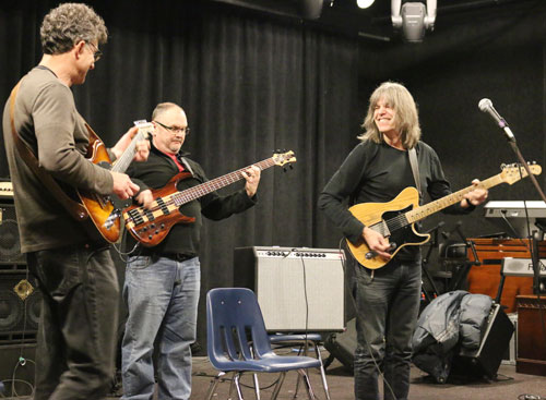 Mike Stern visits