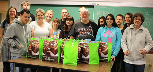 Configure Transitional Training Students Holiday Hampers