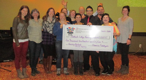A fundraiser for the Selkirk College Nursing Program's practicum in Guatemala held at Chances Casino in Castlegar last month raised $1,000 to support students on their journey. On top of that support, Chances came on board with an additional surprise donation of $2,164.47 that evening.