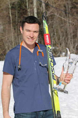 Olympic Skier Gets Fresh Start in Selkirk College Nursing Program